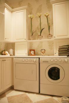 Hãy chú ý đến thiết kế phòng giặt như bất kỳ phòng nào khác.