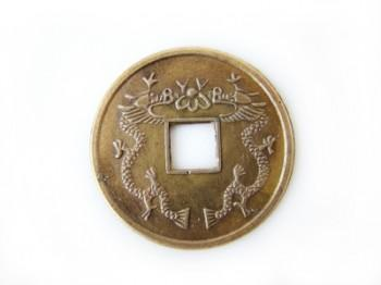 Đồng xu phong thủy đích thực