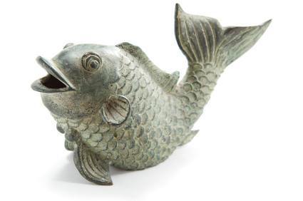 tượng cá koi