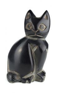 Tượng mèo đen
