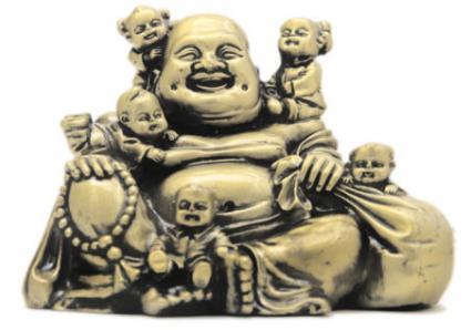 5 đứa trẻ cười Phật