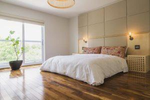 Phòng ngủ phong thủy tối giản