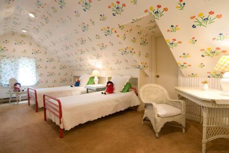 thảm màu nâu trong phòng ngủ