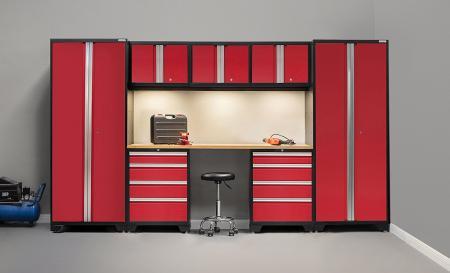 Bộ tủ với tre làm việc hàng đầu