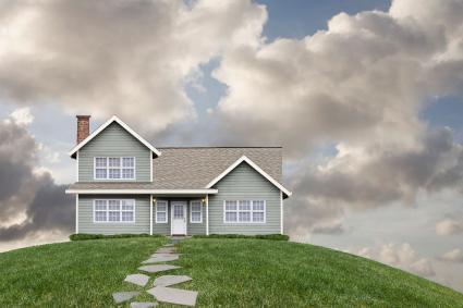 Nhà trên đồi cỏ