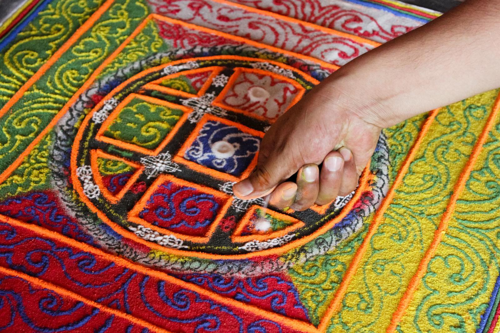 Mạn đà la cát Tây Tạng