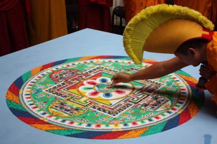 Mạn đà la Phật giáo Tây Tạng