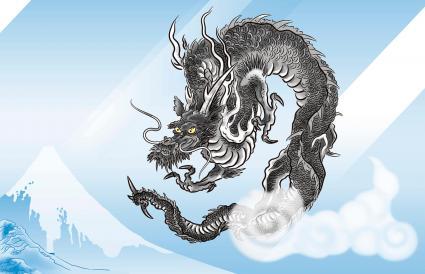 Rồng đen Nhật Bản