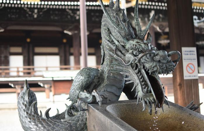 Một con rồng Nhật Bản