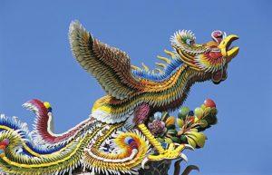 Đền Khổng Tử, phượng hoàng
