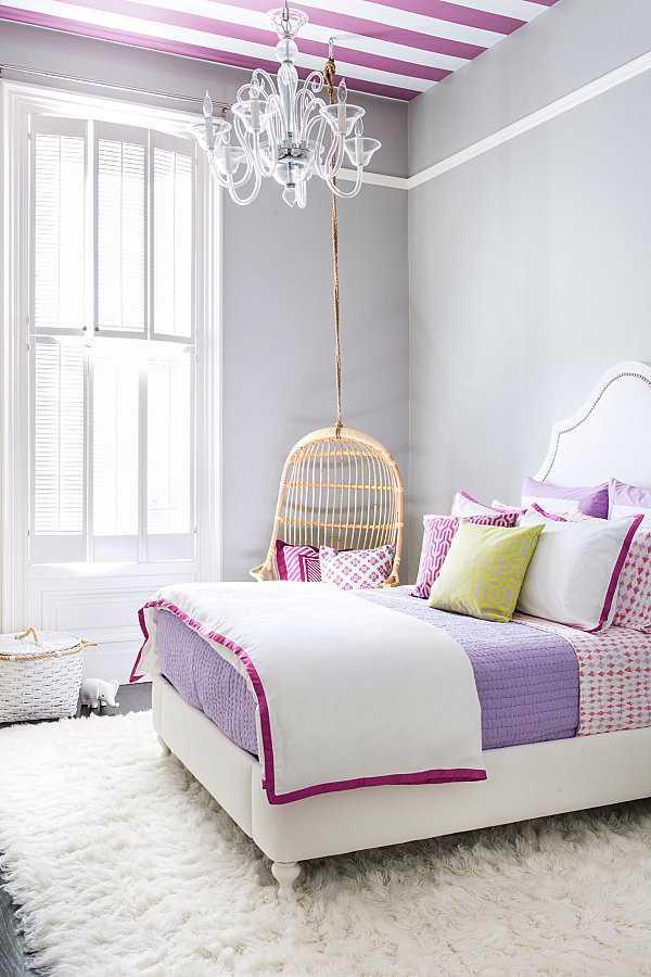 Thiết kế phong ngủ mang phong cách đầy nữ tính dành cho các cô gái