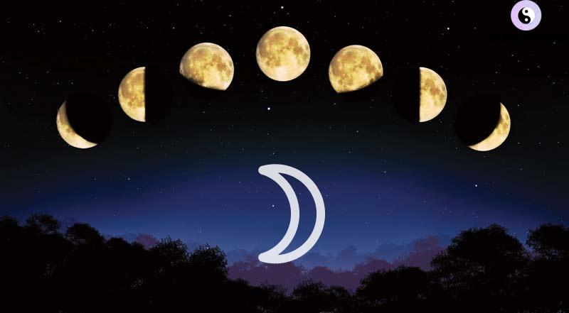 các chu kì của mặt trăng