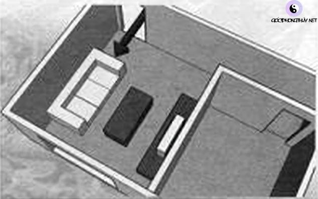 sofa xông cửa