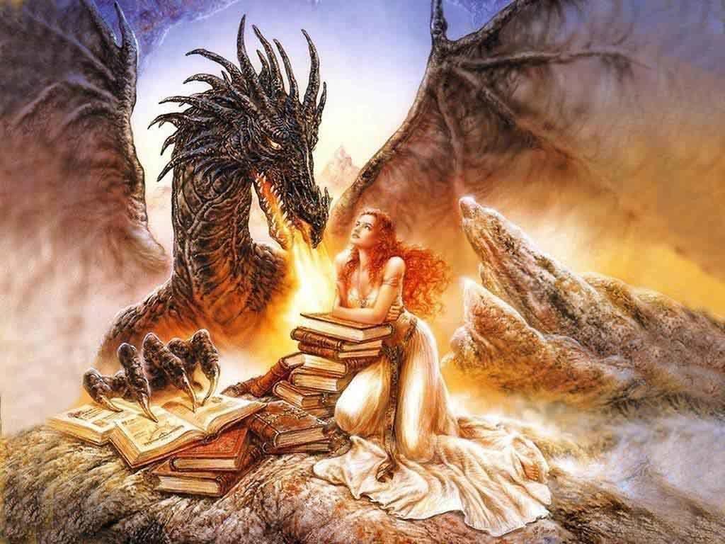 Rồng giữ kho báu và giữ người đẹp trong thần thoại phương Tây