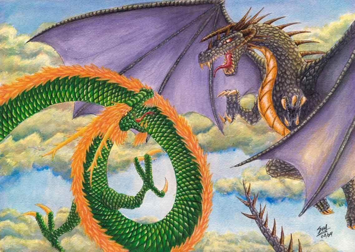 Rồng phương Tây và Rồng phương đông