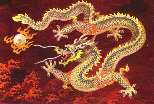 Rồng trong thần thoại Trung Quốc