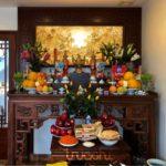 bàn thờ phong thủy