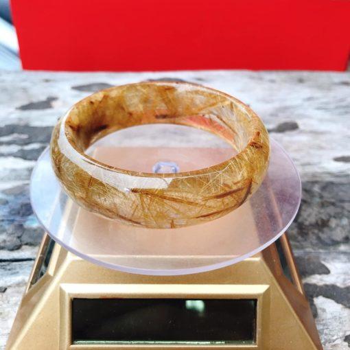 Vòng Liền Thạch Anh Tóc Vàng 54Mm Cao Cấp 3