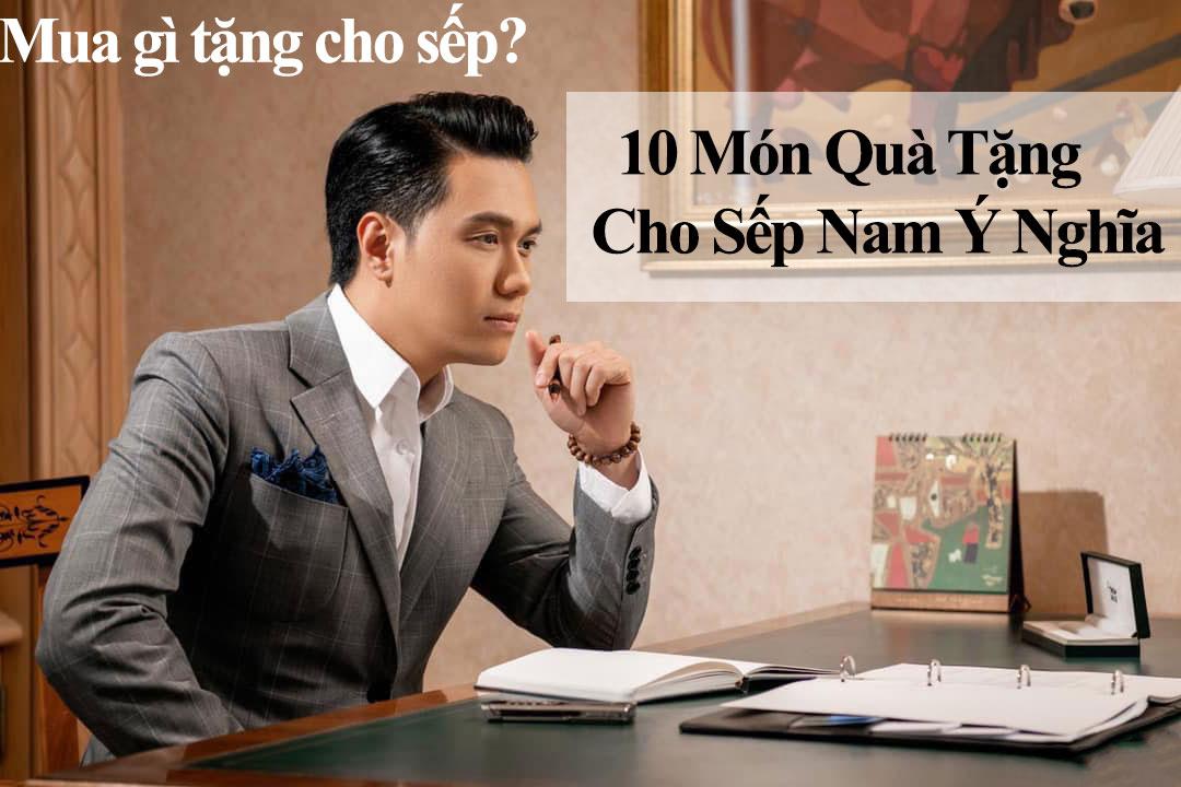 Qua Tang Cho Sep Nam