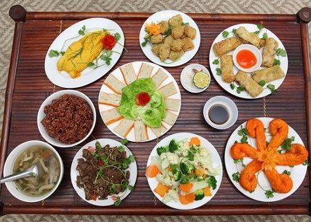 món ăn chay trong ngày vu lan