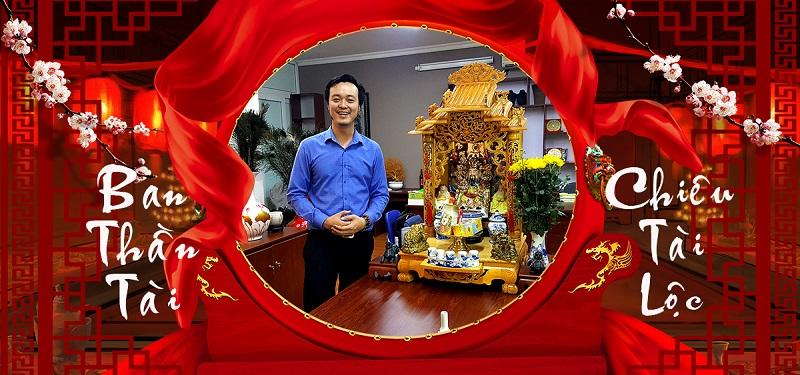 Bàn Thờ Thần Tài - Thầy Tam Nguyên hướng dẫn cách bố trí đúng phong thủy giúp gia chủ nhận đủ tài lộc, kích hoạt tài vận.