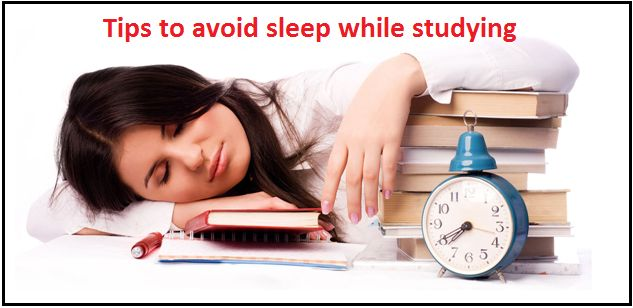 làm thế nào để tránh buồn ngủ trong khi học