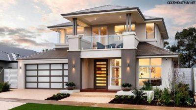 hình dạng ngôi nhà