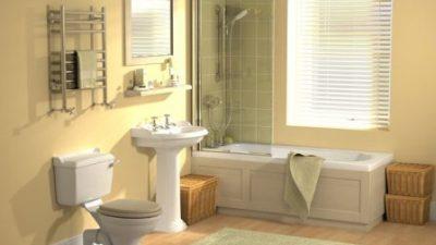 phòng tắm phong thủy